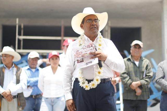 He visitado 100 municipios en la campaña: Jiménez Merino