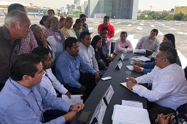 Atenderá Infraestructura estatal demandas de juntas auxiliares: Luna
