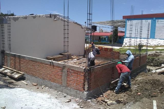 Gobierno de Amozoc hará aulas didácticas en Juntas Auxiliares