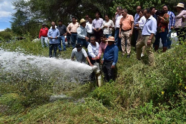 Tecnificación de riego en presas entubadas eleva productividad hasta 50%
