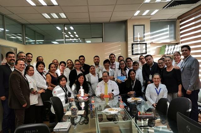 Hospital del ISSSTE Puebla logra certificación ISO 9001:2015