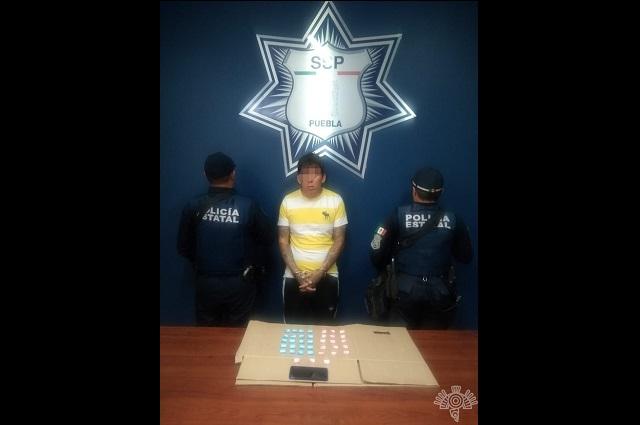 Detienen a El Keops, narcomenudista de la 46 Poniente
