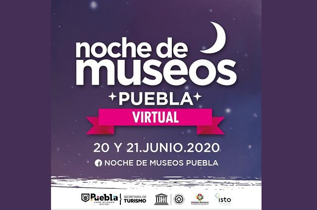 Noche de Museos Virtual 2020, este fin de semana desde Puebla