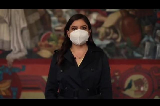 Promueve Claudia Rivera la rifa del avión presidencial