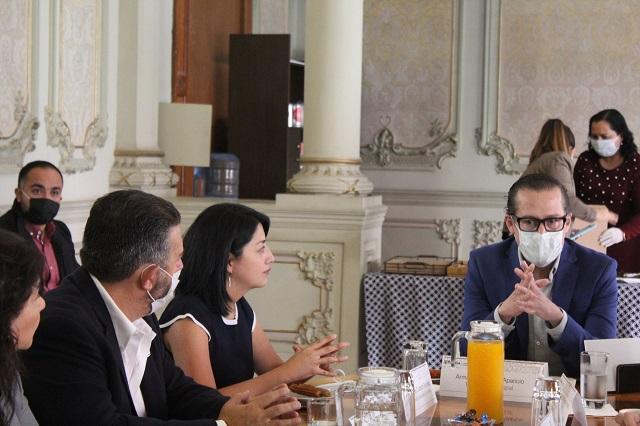 Presentan a empresarios plan de estímulos fiscales en Puebla capital