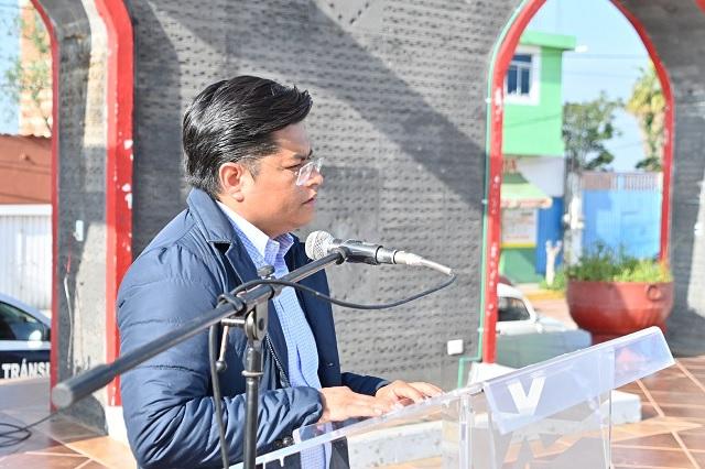 Llama Toño Teutli a redoblar esfuerzos en beneficio de Coronango