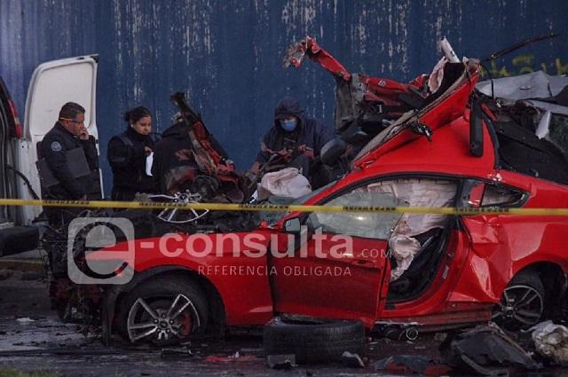 Choque deja a 3 jóvenes muertas en la Diagonal Defensores