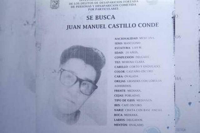 Hallan muerto en barranca a joven desaparecido en Puebla