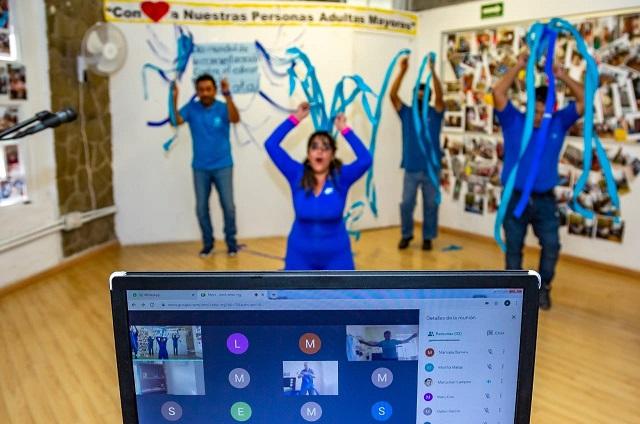 Inicia SMDIF talleres virtuales para personas adultas mayores