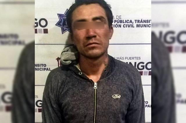 Policía de Huejotzingo detiene a presunto agresor sexual