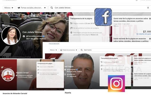 Fuera de tiempo, candidatos de Morena pautan publicidad en Facebook
