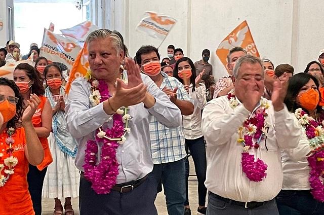 MC puede ganar 80 alcaldías y 6 diputaciones locales: Morales