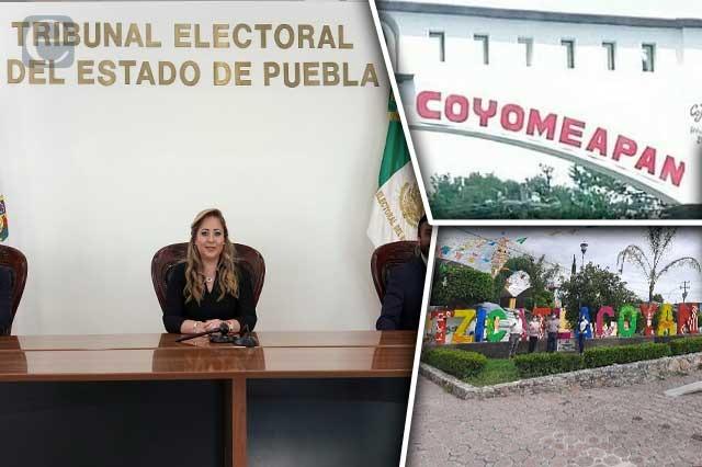 Confirma TEEP resultado electoral en Coyomeapan y Tzicatlacoyan