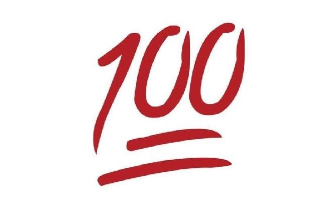WhatsApp: ¿Qué significa el emoji del número 100?
