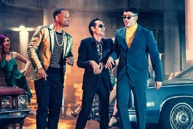 Marc Anthony, Will Smith y Bad Bunny estrenan sencillo Está Rico