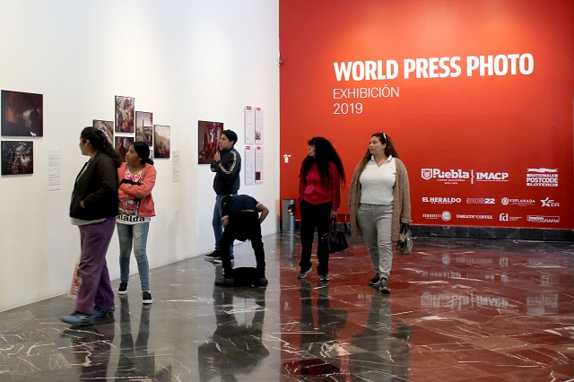 Más de 22 mil personas vieron en Puebla la World Press Photo