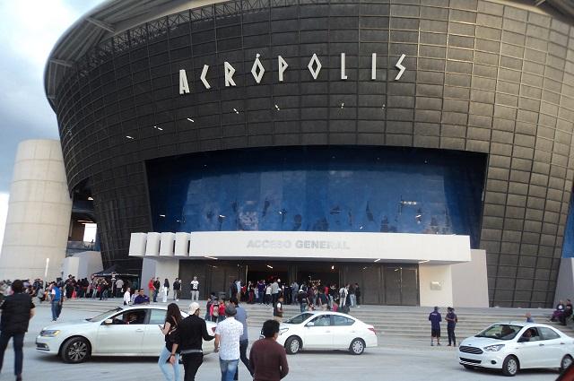 Inaugurado a mediados del 2016 la Acrópolis es un icono moderno de Puebla