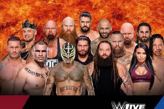 WWE México 2019, cartelera con estrellas de Raw y SmackDown