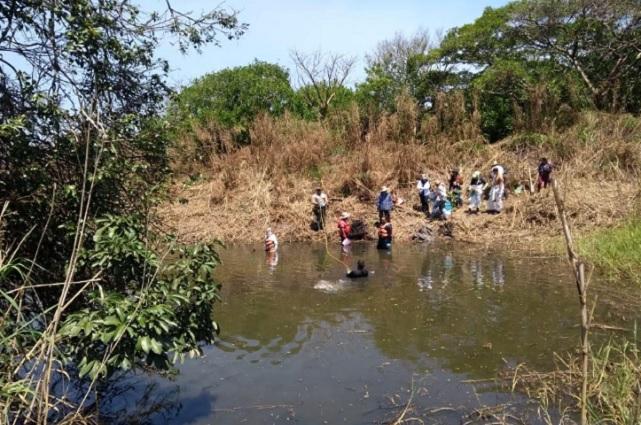 Hallan fosa clandestina en Veracruz con 65 restos óseos
