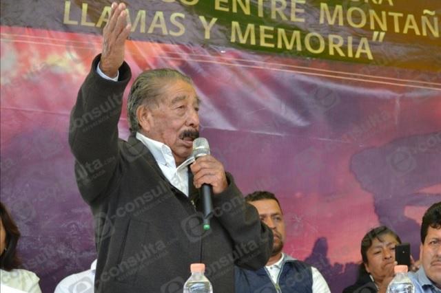 A los 86 años muere cronista de Xochiapulco por Covid19