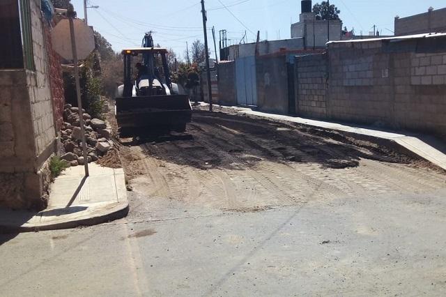 Denuncian indiferencia de comuna de Puebla hacia Xonacatepec