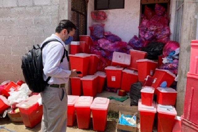 Halló Profepa 3 toneladas de residuos peligrosos en Xonacatepec