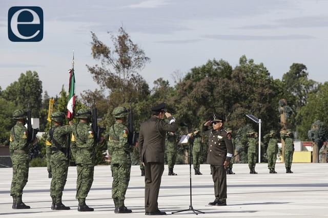 Gerardo Mérida Sánchez, nuevo comandante de la 25 Zona Militar