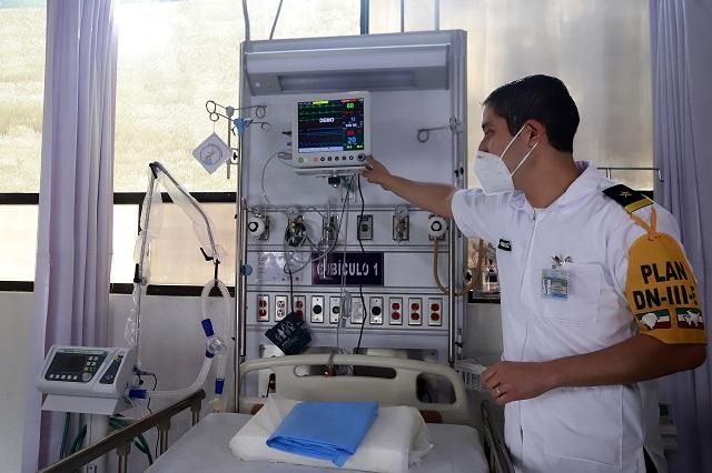 Ligan a Hospital Militar de Puebla en desvío de Sedena