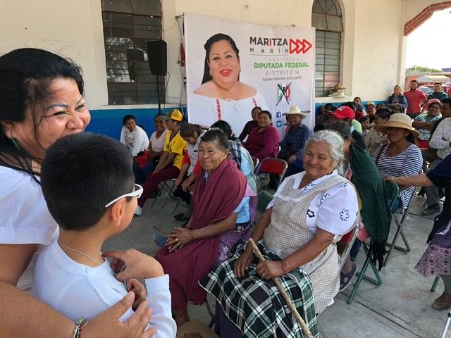 Impulsará Maritza Marín mejora del tianguis ganadero de Zozutla