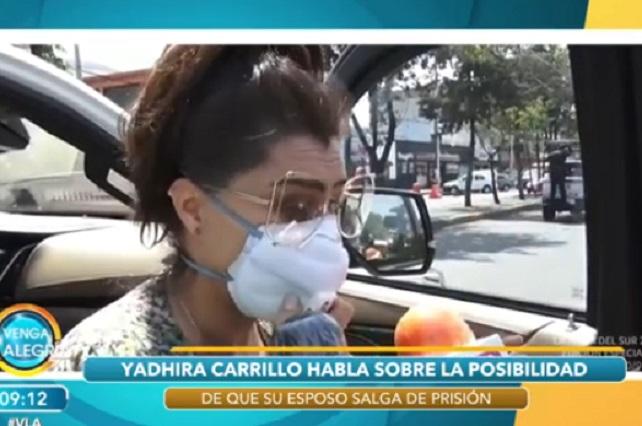 Yadhira Carrillo celebró aniversario de bodas con Juan Collado en la cárcel