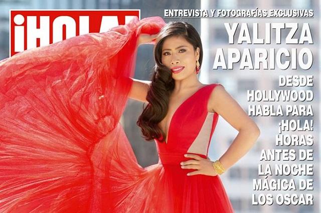 Critican a Revista Hola por exceso de photoshop en Yalitza