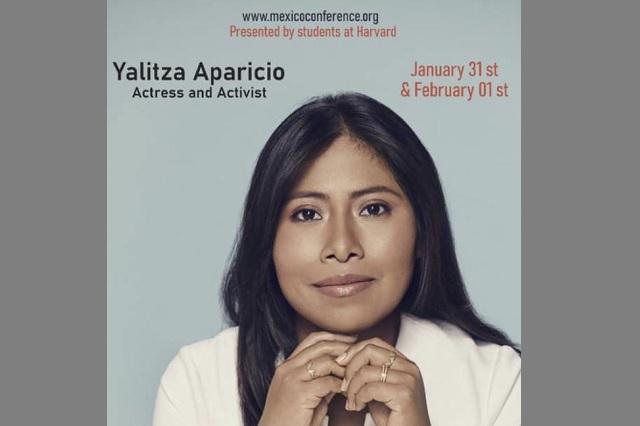Yalitza Aparicio ahora dará conferencias en Harvard