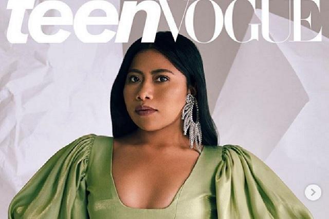 Teen Vogue puso a Yalitza en portada y las redes la han hecho viral