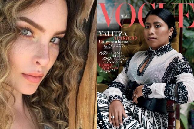 Belinda aplaude a Vogue por poner a Yalitza Aparicio en portada