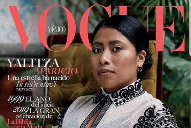 Portada de Yalitza Aparicio en Vogue México rompe récord