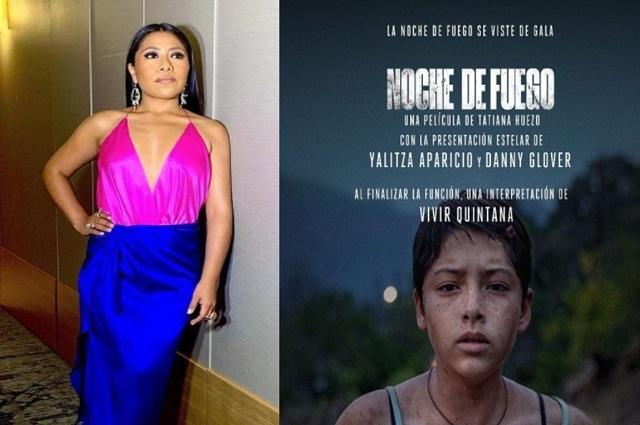 """Yalitza Aparicio presenta película mexicana """"Noche de Fuego"""""""