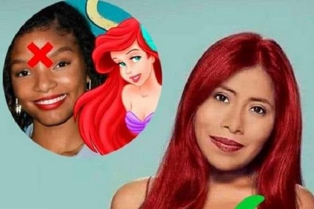 Con memes proponen a Yalitza para ser Ariel en La Sirenita