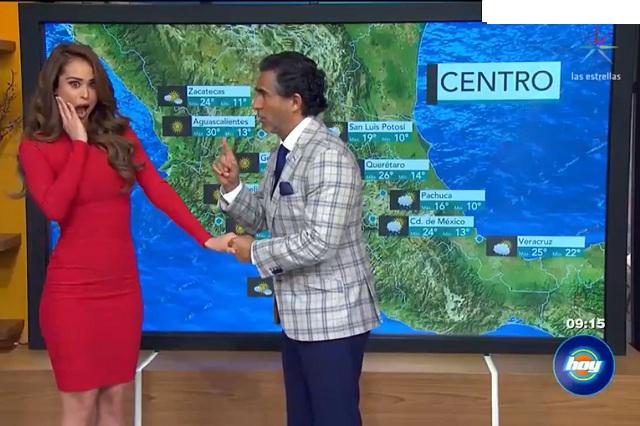 Video yanet garc a ya es la chica del clima en hoy us for Noticias del espectaculo internacional hoy