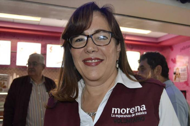 Se anulará elección de Puebla, dice Yeidckol en Congreso de Morena