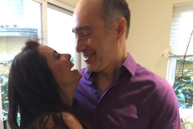 Yolanda Ventura y Odiseo Bichir celebran 3 años de casados