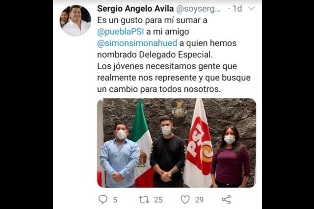 Retira PSI Puebla cargo a youtuber fan de los arrancones