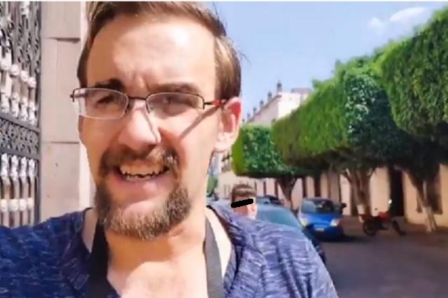 Youtuber de EU viola cuarentena y reta a policías mexicanos a deternerlo