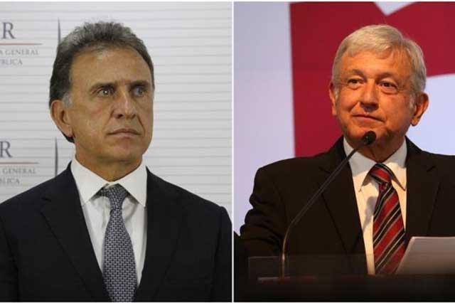 Yunes denuncia que Duarte le daba mensualmente 2.5 mdp a AMLO