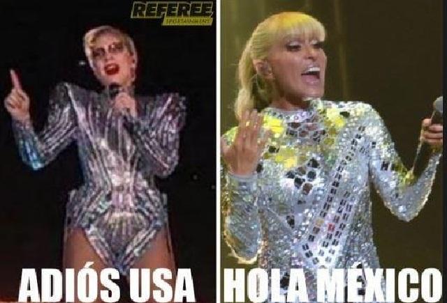Yuri llama copiona a Lady Gaga por vestuario que usó en Super Bowl