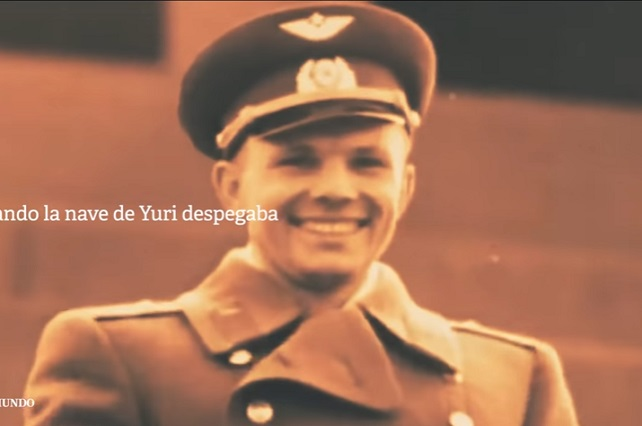 Yuri Gagarin, el primer hombre en el espacio hace 60 años
