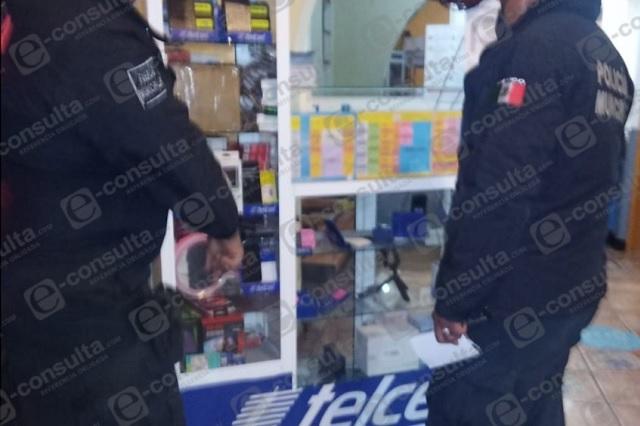 Ingresan a robar en terminal de autobuses de Zacapoaxtla
