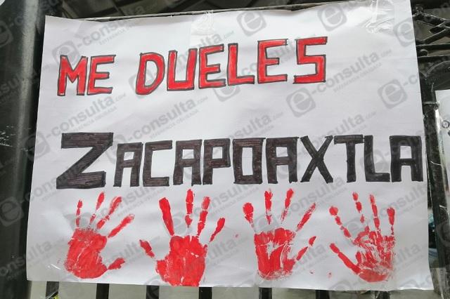 Exhiben lista de hombres acosadores en Zacapoaxtla por 8M