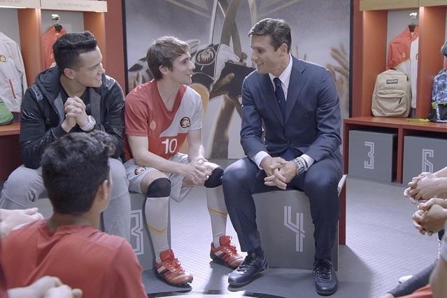 Ex futbolista Javier Pupi Zanetti aparecerá en O11ce de Disney XD