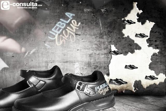 Regala Puebla casi un millón de zapatos en año electoral