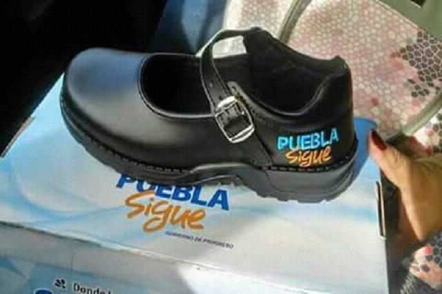 Va Morena al TEPJF por regalo de zapatos en Puebla